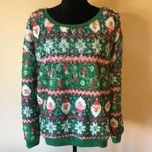 Super Plush Ugly Christmas Sweater